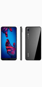 Huawei P20 Nov - Vakum - 128GB - Black