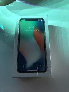 iPhone X Silver NOVO - VAKUM - GARANCIJA / ZAMJENA