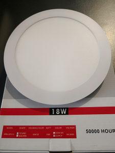 LED Panel ugradbeni okrugli - 18W