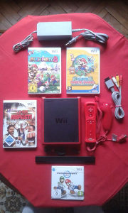 Nintendo Wii Mini + HIT IGRE