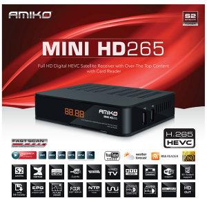 Amiko MINI HD265 +6MJ Gratis Linija