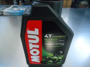 Ulje MOTUL 4T 5100 10W40, pakovanje 1 L
