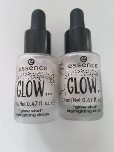 Sminka Essence tecni Glow Highlighting drops
