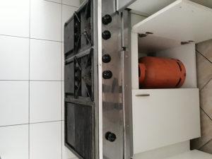 Plinska pec, šporet, roštilj