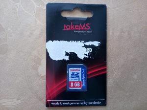 SD HC kartica takeMS 8GB
