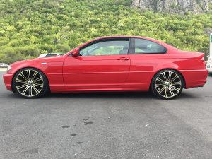 BMW 318i COUPE E46 FACELIFT ALU SIBER UVOZ TIP TOP