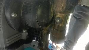 gardena pumpa za vodu dio vidljiv na slikama