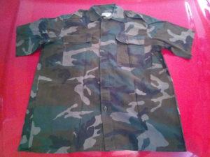 Maskirna košulja HVO br. 42