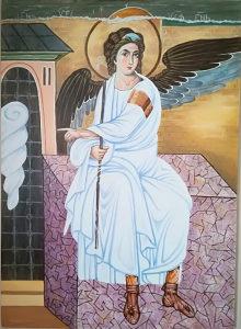 Umjetnička slika - Bijeli Anđeo