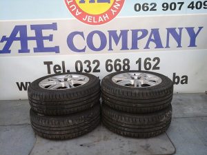 Alu aluminijske felge gume Seat Ibiza 10g R15 AE 090