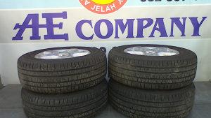 Alu aluminijske felge gume Touareg 05g R17 AE 091