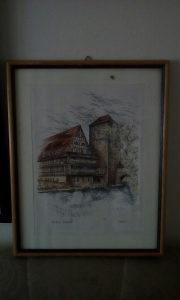 Umjetnicka slika Nurnberg1944