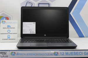 Laptop HP 650 Core i5-4310M 2,70GHz; 8GB RAM; 160GB SSD
