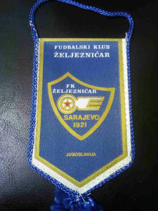 Zastavica fk zeljeznicar iz jugoslavije