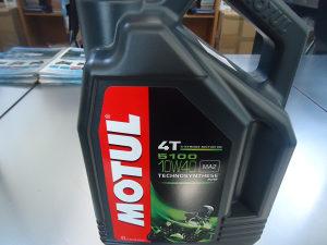 Ulje MOTUL 4T 5100 10W40, pakovanje 4 L