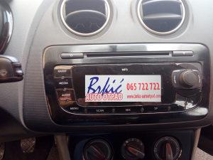 SEAT IBIZA DIJELOVI 1.4 16V 2010 MP3 RADIO