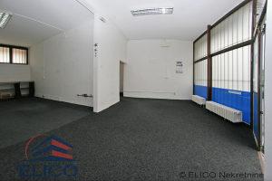 Renoviran poslovni prostor, portali 4m visine, Centar