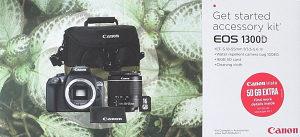 Canon EOS 1300D Starter Kit