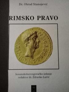 Rimsko pravo Obrad Stanojevic