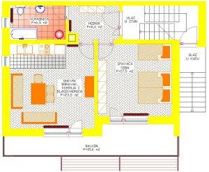 Livno apartman for rent 35 KM/dan