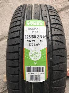 Nokian 225/60- ZR16 NOVO, Ne korišteno