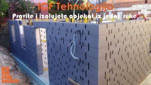 Građevinski radovi sa ICF Tehnologijom