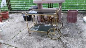 Stara mesingana kolica