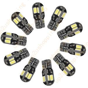 Pozicione T10 sijalice - 8 SMD LED