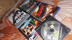 Orginal PS2 igre 5 komada u kompletu