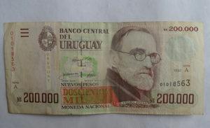 Novcanica Urugvaj