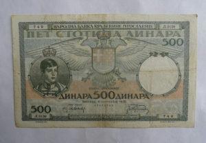 Novcanica Jugoslavija
