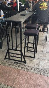 barski sto za nargilu