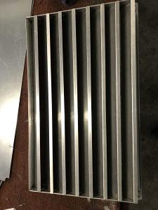Fiksna žaluzina 600x350 aluminijska