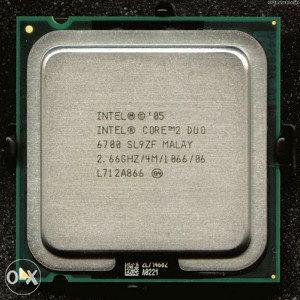 Core 2 Duo E6700 Core2Duo E6700