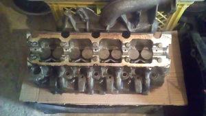 Glava motora Renault Scenic 1.9 dci