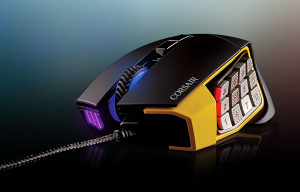 CORSAIR Scimitar Pro RGB Optical Gaming Mouse Black