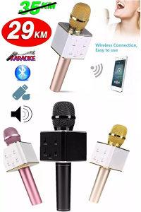 Bluetooth karaoke mikrofon bezicni