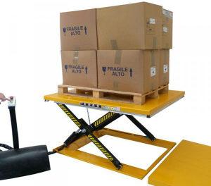 Niskoprofilni stol - 1000kg - 1600x800mm - 85-860mm