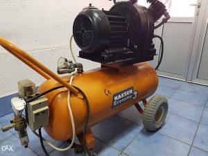 Kompresor zraka trofazni 10 bar 3 KW boca 100 lit