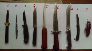 Noževi (razni - nož) cakija