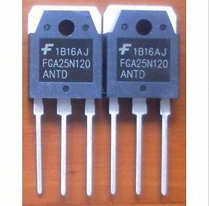 tranzistor 1200 V, 25 A NPT Trench IGBT