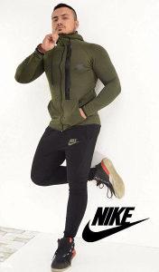 Muska trenerka Nike zelena