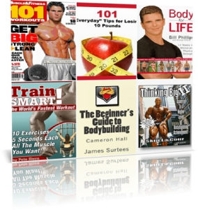 Fitness and Bodybuilding Books Collection -DVD