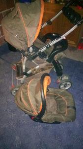 Dječija kolica plus korpa