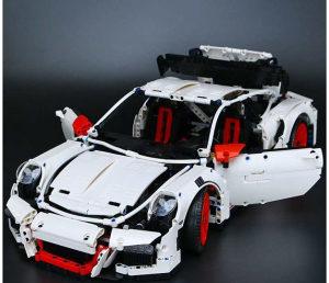 Lepin kockice Porsche Bijeli - 2758 Dijelova
