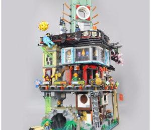Lepin kockice Ninjago City - 4932 Dijelova