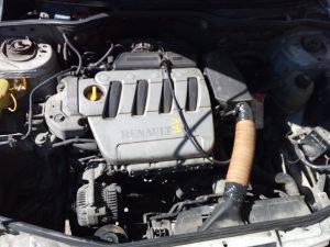 motor reno megan 1.4 16v 2001god.