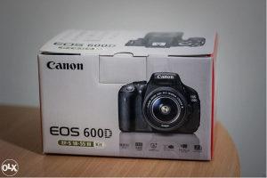 Canon EOS 600D + EFS 18-55mm III (Rebel T3i)