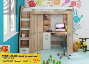 Dječija soba Antresola/lijeva i desna
