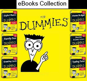 E-Books For Dummies collection -3DVD